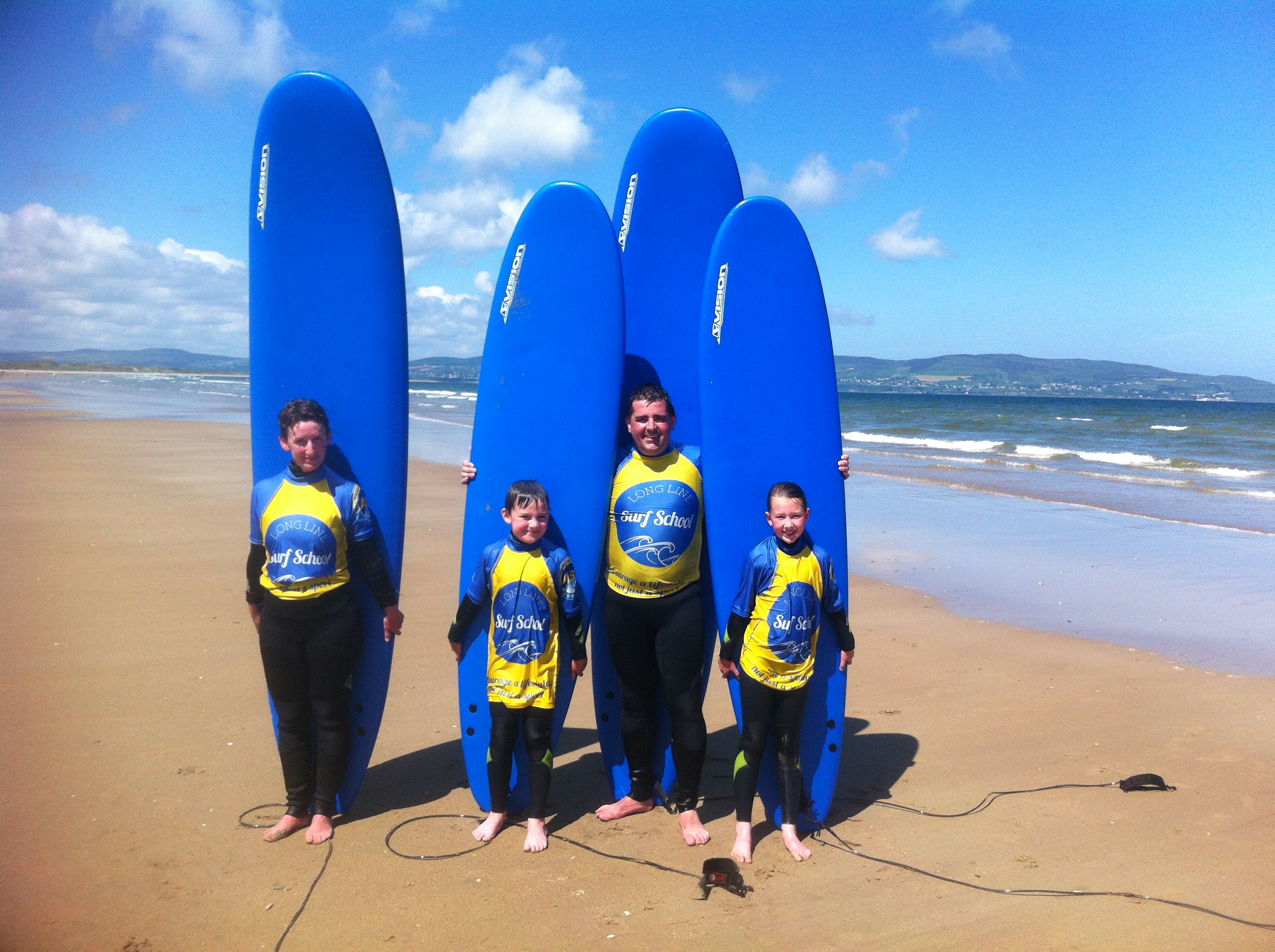 surf lessons northern ireland