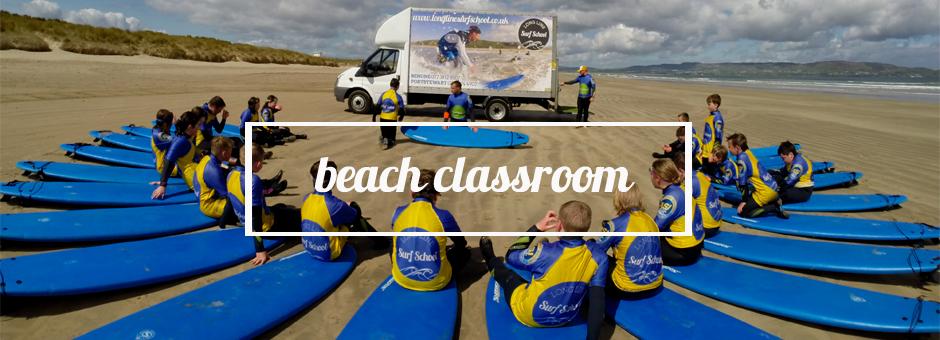 beach classroom slider