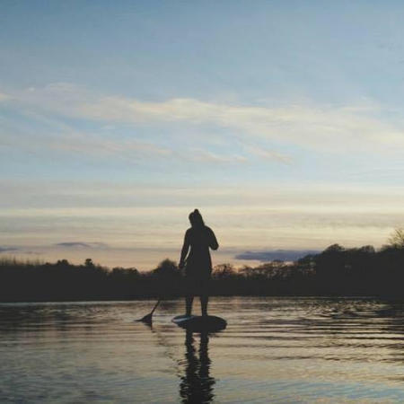 stand up paddleboard lesson northern ireland