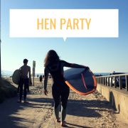 hen party surf lesson