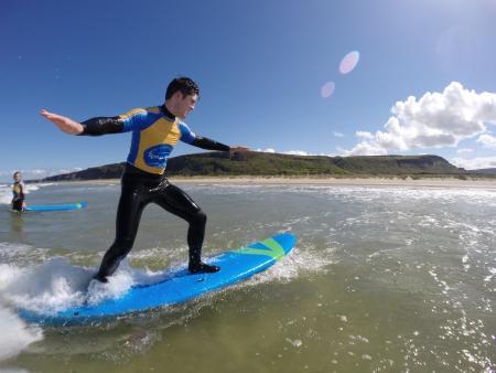 surf lesson northern ireland